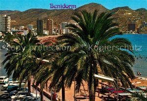 AK / Ansichtskarte Benidorm Playa Levante Benidorm