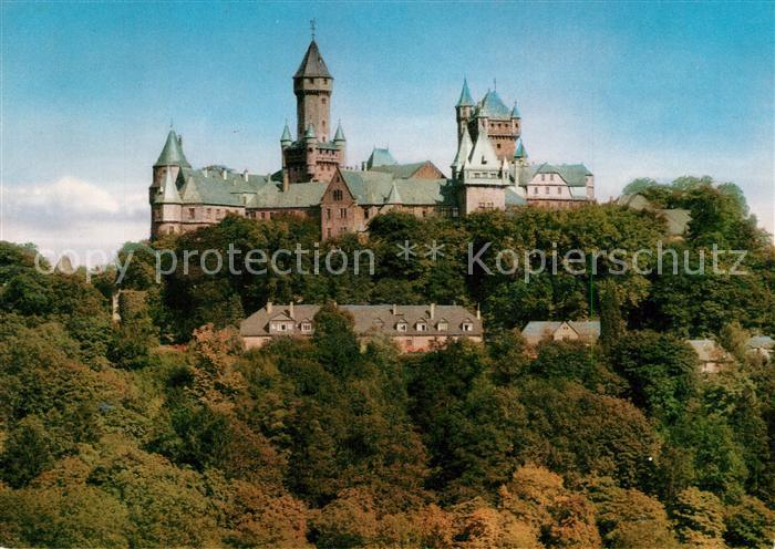 AK / Ansichtskarte Braunfels Schloss an der Lahn Braunfels