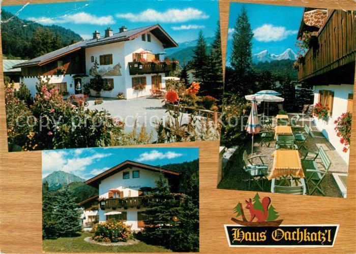 AK / Ansichtskarte Berchtesgaden Gasthaus Oachkatz Berchtesgaden 0
