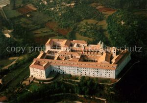 AK / Ansichtskarte Abbazia_Sacra Fliegeraufnahme Montecassino Abbazia Sacra