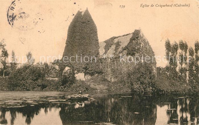 AK / Ansichtskarte Criquebeuf sur Seine Eglise de Criqueboeuf Criquebeuf sur Seine