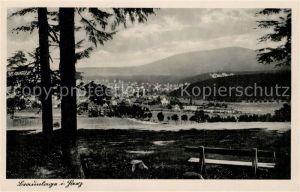 AK / Ansichtskarte Braunlage Panorama Braunlage