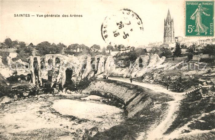 AK / Ansichtskarte Saintes_Charente Maritime Vue generale des Arenes Saintes Charente Maritime