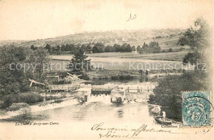 AK / Ansichtskarte Villeneuve sur Yonne La Cure a Arcy sur Cure Villeneuve sur Yonne