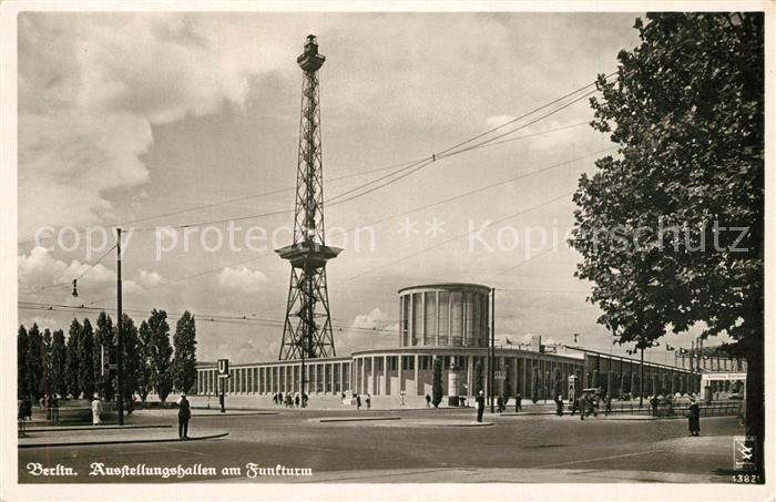 AK / Ansichtskarte Berlin Ausstellungshallen am Funkturm Berlin
