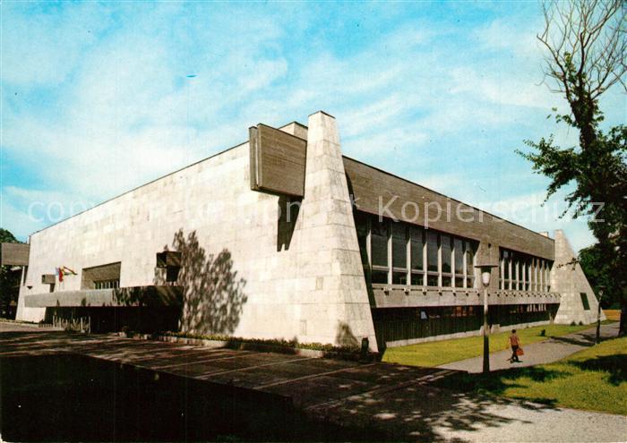 AK / Ansichtskarte Miskolc Sporthalle Miskolc