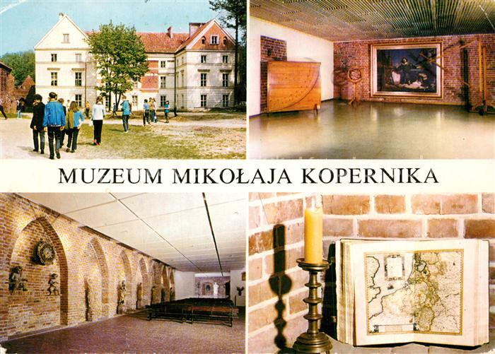 AK / Ansichtskarte Frombork Muzeum Mikolaja Kopernika Museum Frombork