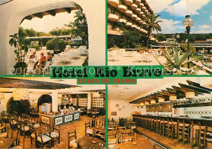 AK / Ansichtskarte Playa_de_Palma Hotel Rio Bravo Playa_de_Palma