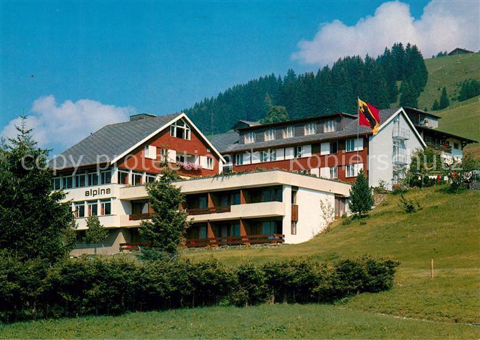 AK Ansichtskarte Adelboden Ferienheim Hotel Alpina Adelboden Nr - Hotel alpina adelboden