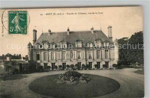 AK / Ansichtskarte Anet Facade du Chateau vue de la Cour Anet