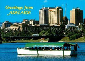 AK / Ansichtskarte Adelaide Popeye with Adelaide Skyline Adelaide