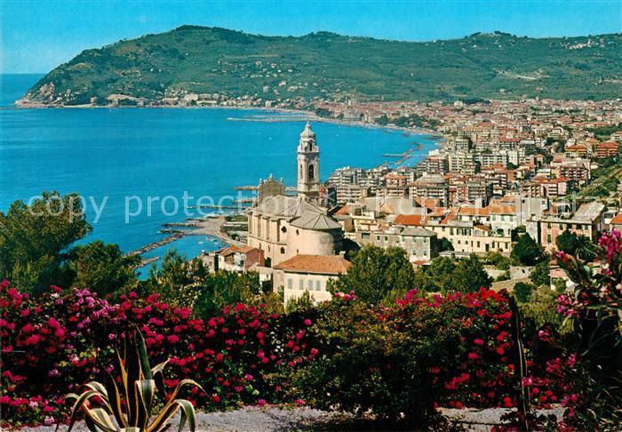AK / Ansichtskarte San_Bartolomeo_al_Mare Panorama visto da Cervo Ligure San_Bartolomeo_al_Mare