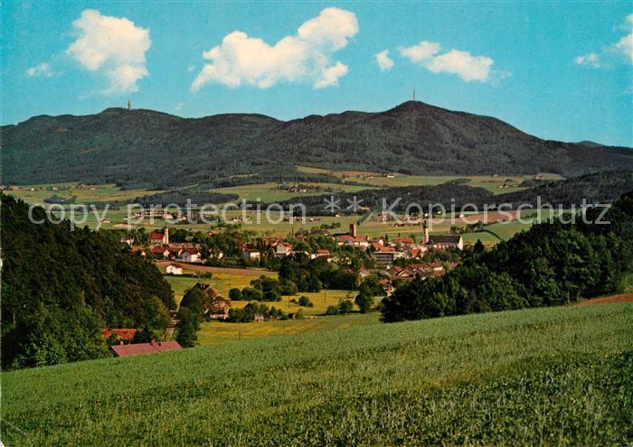 AK / Ansichtskarte Furth_Wald Panorama Blick zum Hohenbogen Bayerischer Wald Furth_Wald