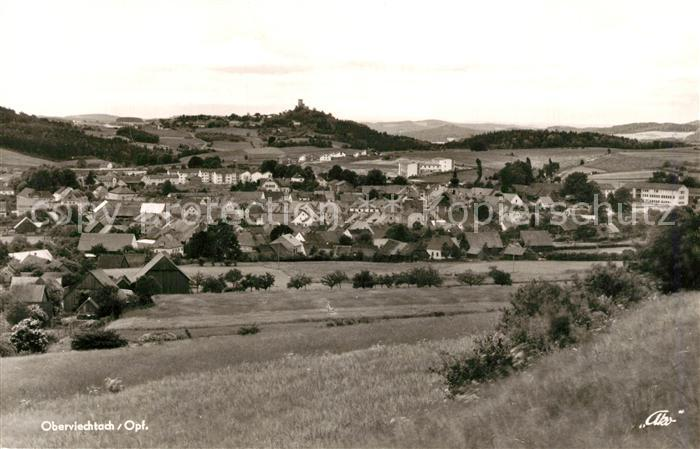 AK / Ansichtskarte Oberviechtach Panorama Oberviechtach
