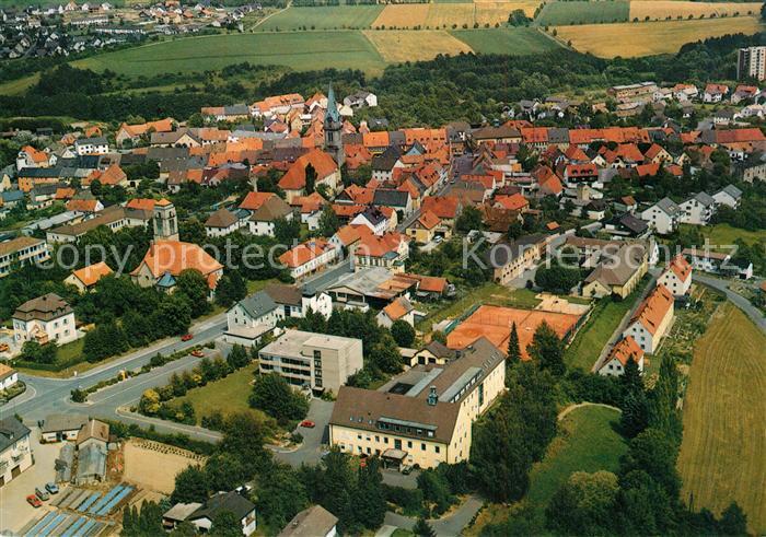 AK / Ansichtskarte Erbendorf Kreiskrankenhaus Fliegeraufnahme Erbendorf