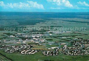 AK / Ansichtskarte Manitoba Canadian Forces Base Shilo Fliegeraufnahme Manitoba