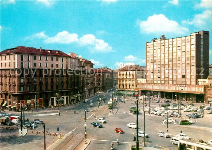AK / Ansichtskarte Milano Piazzale Cadorna Ferrovia Nord Milano Milano