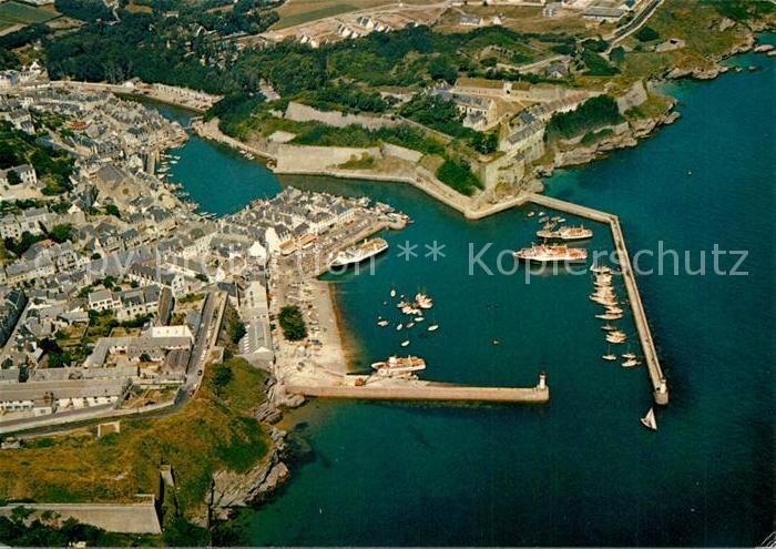 AK / Ansichtskarte Belle Ile en Mer Le Palais Le Port Vue aerienne Belle Ile en Mer