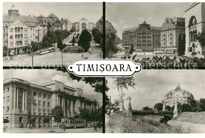 AK / Ansichtskarte Timisoara Stadtmotive Timisoara