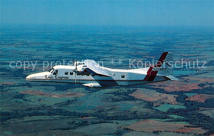 AK / Ansichtskarte Flugzeuge_Zivil Exec Express Dornier 228 201 N226PT c n 8122 Flugzeuge Zivil