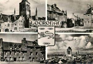 AK / Ansichtskarte Locronan Eglise place de Locronan  Locronan