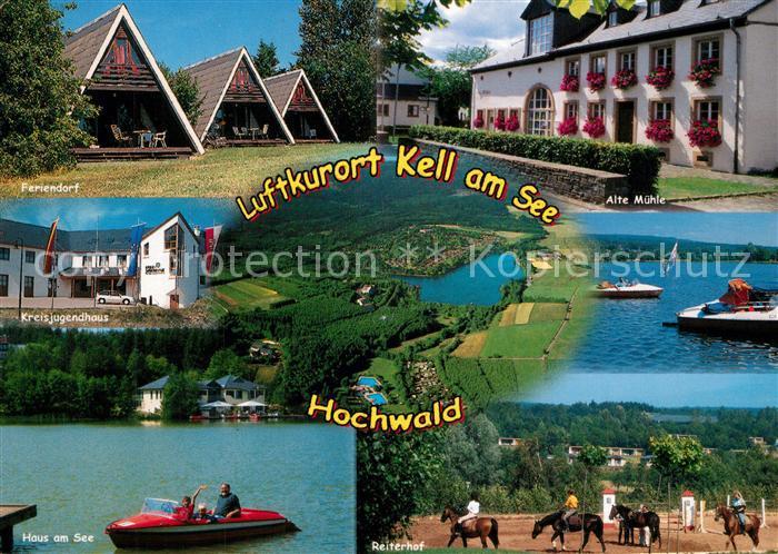 AK / Ansichtskarte Kell_See Reiterdorf Alte Muehle Haus am See ... Haus Kel on