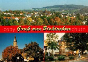 AK / Ansichtskarte Biskirchen Stadtpanorama Kirche Biskirchen