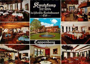 AK / Ansichtskarte Cappenberg Kreutzkamp Historisches Hotelrestaurant Cafe Cappenberg