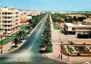 AK / Ansichtskarte Tunis Avenue Mohammed V Tunis