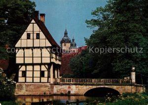 AK / Ansichtskarte Burgsteinfurt Schloss Steinfurt Ritterburg Burgsteinfurt