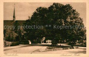 AK / Ansichtskarte Bordesholm Linde Kirche Bordesholm
