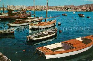 AK / Ansichtskarte Malaga Port Malaga
