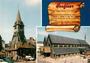 AK / Ansichtskarte Honfleur Eglise Sainte Catherine  Honfleur