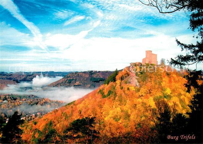 AK / Ansichtskarte Annweiler_Trifels Panorama mit Burg Trifels Annweiler_Trifels 0
