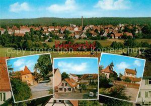 AK / Ansichtskarte Behringersdorf Panorama Ortsmotive mit Kirche Behringersdorf
