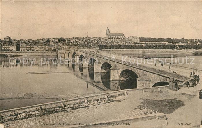 AK / Ansichtskarte Blois_Loir_et_Cher Vue prise de Faubourg de Vienne Blois_Loir_et_Cher