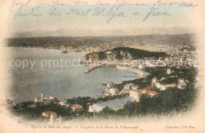 AK / Ansichtskarte Nice_Alpes_Maritimes Fliegeraufnahme et la Baie des Anges Nice_Alpes_Maritimes