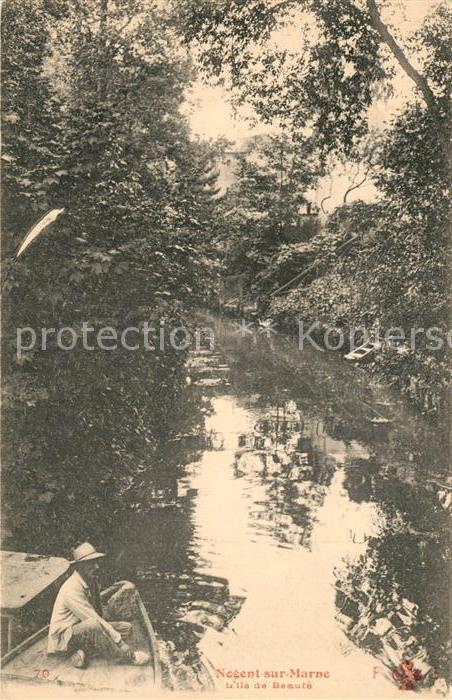 AK / Ansichtskarte Nogent sur Marne Ile de Beaute Nogent sur Marne