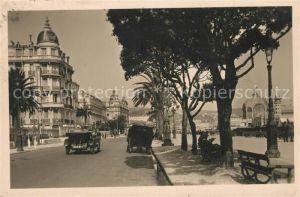 AK / Ansichtskarte Nizza Promenade des Anglais Nizza