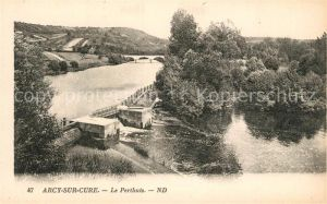 AK / Ansichtskarte Arcy sur Cure_Yonne Le Perthuis Arcy sur Cure Yonne