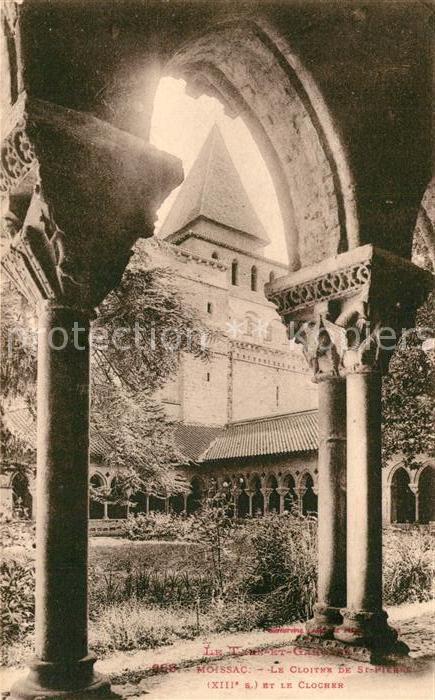 AK / Ansichtskarte Moissac Abbaye Sainte Pierre Moissac