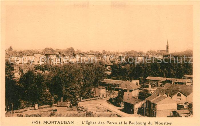 AK / Ansichtskarte Montauban Panorama Montauban