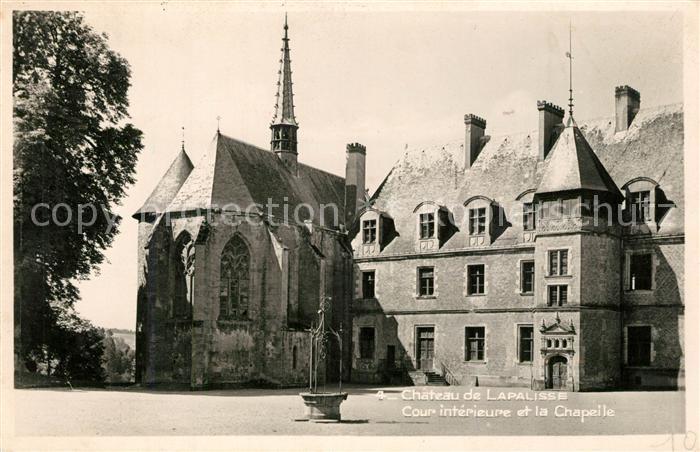 AK / Ansichtskarte Lapalisse Chateau Chapelle Lapalisse