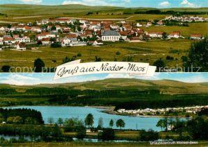AK / Ansichtskarte Nieder Moos Urlaubszentrum Mooser Seen Nieder Moos
