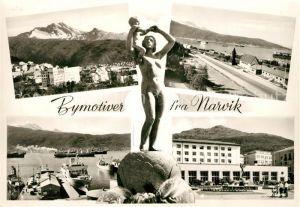 AK / Ansichtskarte Narvik Bymotiver Narvik