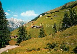 AK / Ansichtskarte Kaisers Panorama Bergdorf Alpen Kaisers