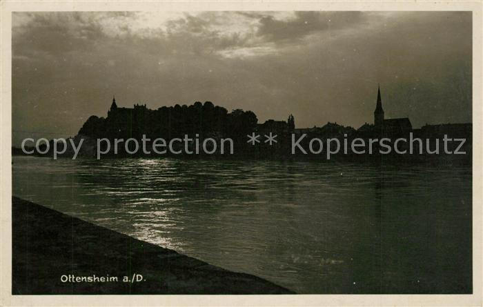 AK / Ansichtskarte Ottensheim Abendstimmung Ottensheim