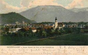 AK / Ansichtskarte Niederaudorf Kloster Reisach Kaisergebirge Niederaudorf