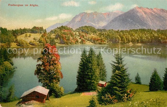 AK / Ansichtskarte Freibergsee Panorama Freibergsee