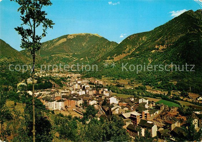 AK / Ansichtskarte Valls_d_Andorra Panorama Valls_d_Andorra